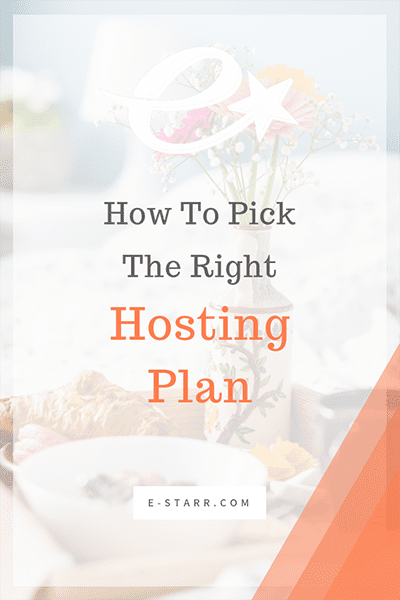 How To Pick The Right Hosting Plan